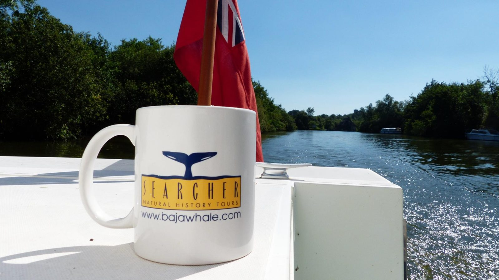 Where in the world is your Searcher Natural History Tour mug?!